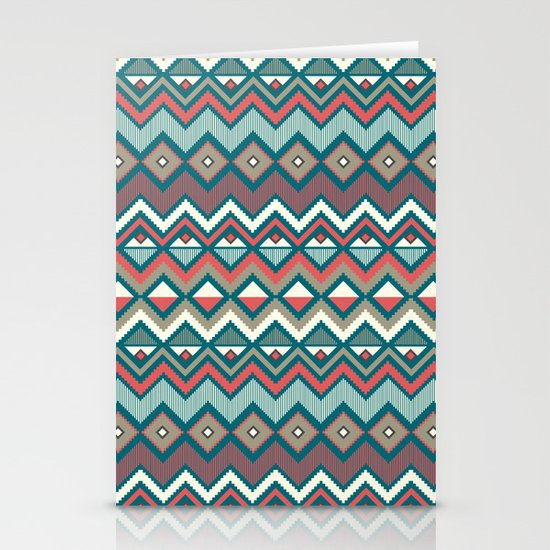 Aztec. Stationery Card