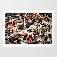 Pollock Had A Wife. I Du… Art Print