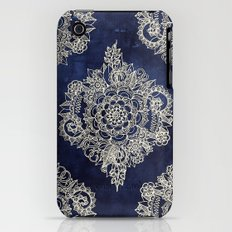 Cream Floral Moroccan Pa… iPhone (3g, 3gs) Slim Case