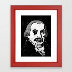 04. Zombie James Madison  Framed Art Print