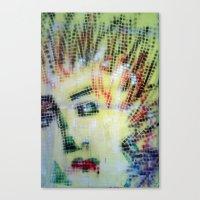 VENUS  PIXELATED PUNK Canvas Print