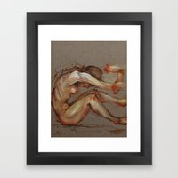 Tumble Framed Art Print
