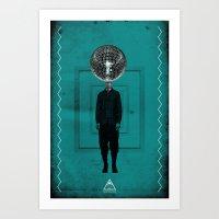 disco man Art Print