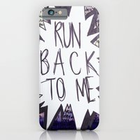 iPhone & iPod Case featuring Come Back To Me by Elektrikk