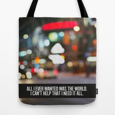 marina + the diamonds - world. Tote Bag
