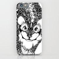 Black Cheetah iPhone 6 Slim Case