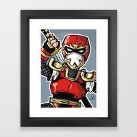 A Incredible Ninja Framed Art Print