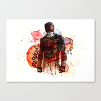 THE MAN WITHOUT FEAR Canvas Print