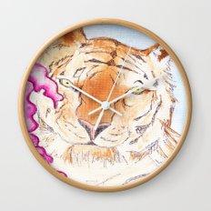 Tiger #1 Wall Clock