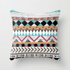 Age of the Aztec Throw Pillow
