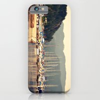 iPhone & iPod Case featuring deep cove harbor by LeoTheGreat
