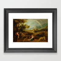 Van Framed Art Print