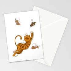 Cat and Mouse Stationery Cards