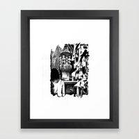 Fontain Framed Art Print