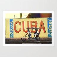 Viva Cuba Libre! Art Print