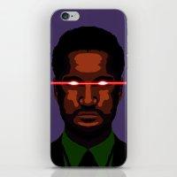 evil businessman  iPhone & iPod Skin