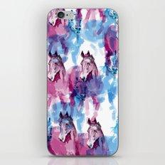 Two horses iPhone & iPod Skin