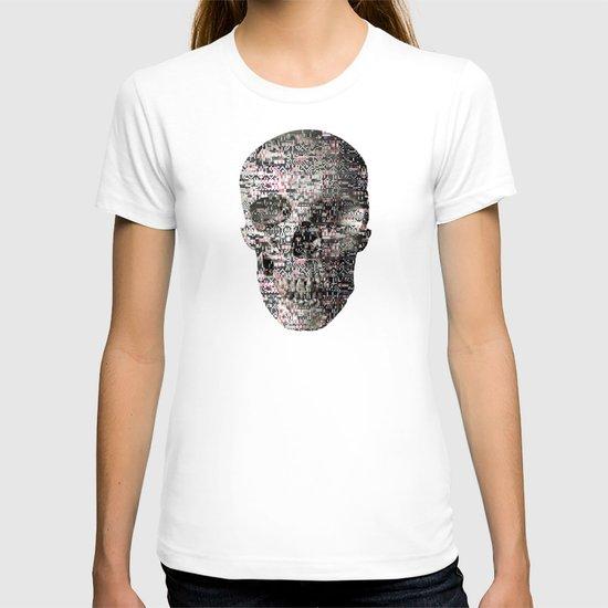 Comfortable Ambiguity (P/D3 Glitch Collage Studies) T-shirt