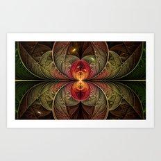 Autumn Galaxy Art Print
