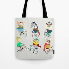 Bikers. Tote Bag