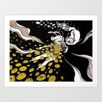 Underwater Adventures Art Print