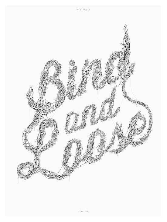 Bind & Loose Canvas Print