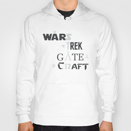 Geek All Stars Hoody