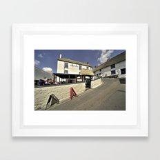 The Inn at Cadgwith  Framed Art Print