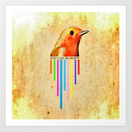 You Can Be Happy Art Print