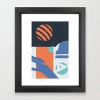 Terglitoj Framed Art Print