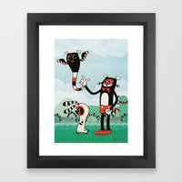 Petryk Framed Art Print