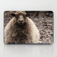 Sheep Stare iPad Case