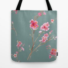2016 Calendar Print - Cherry Blossoms Tote Bag