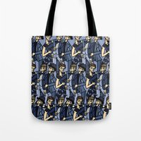 file 033. blue brothers Tote Bag