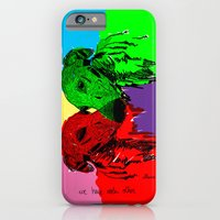 iPhone & iPod Case featuring Galgos by Villaraco
