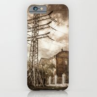 iPhone & iPod Case featuring Old Powerstation by DS' photoart
