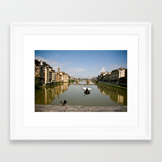 Flourence, Italy Framed Art Print