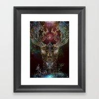 DeerTree - Medicina Cosmic Shoko Framed Art Print