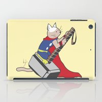 The Catty Thor iPad Case