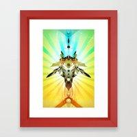 Chubbot! Framed Art Print