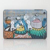 Astronaut Graffiti iPad Case