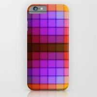 Tagged Autumn Plaid no21 iPhone 6 Slim Case