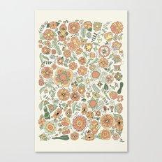 Naranjas Canvas Print