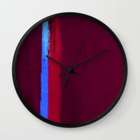Teal Dream Abstract Wall Clock