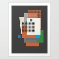 A Kiss In The Dreamhouse Art Print