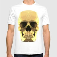 Polygon Heroes - Gold Sk… Mens Fitted Tee White SMALL