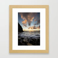 Arch Cape Framed Art Print