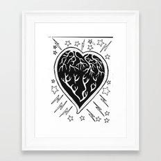 Love Muscle.. Framed Art Print