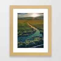 Country Feedback Framed Art Print