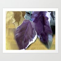 Ivy Leaves Art Print